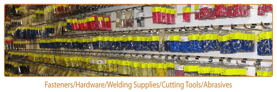 Fasteners/Hardware/Welding Supplies/Cutting Tools/ Abrasives